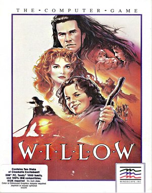 Willow DOS front cover