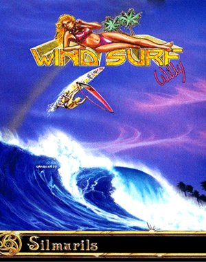 Windsurf Willy DOS front cover