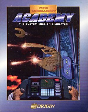 Wing Commander: Academy DOS front cover