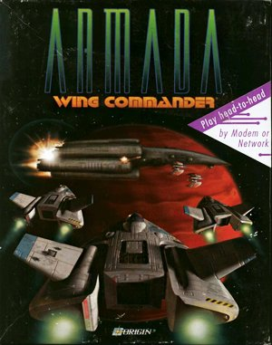 Wing Commander: Armada DOS front cover