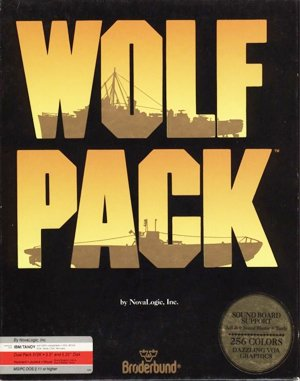 Wolf Pack DOS front cover