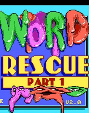 Word Rescue DOS front cover