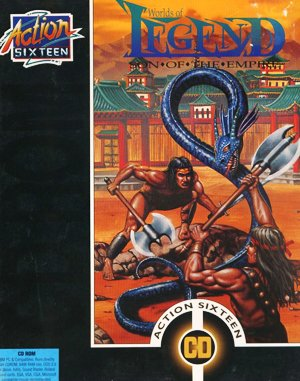 Worlds of Legend: Son of the Empire DOS front cover