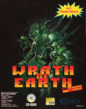 Wrath of Earth DOS front cover