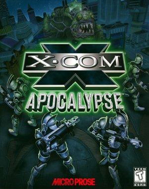 X-COM: Apocalypse DOS front cover