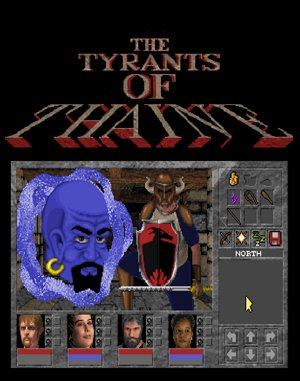 Yendorian Tales: The Tyrants of Thaine DOS front cover