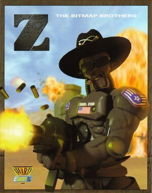 Z: The Game DOS front cover
