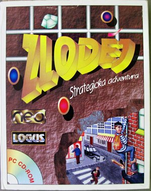 Zloděj DOS front cover