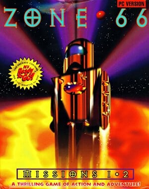 Zone 66 DOS front cover