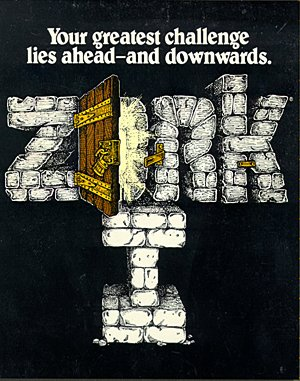 Zork I: The Great Underground Empire DOS front cover