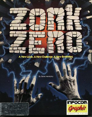 Zork Zero: The Revenge of Megaboz DOS front cover