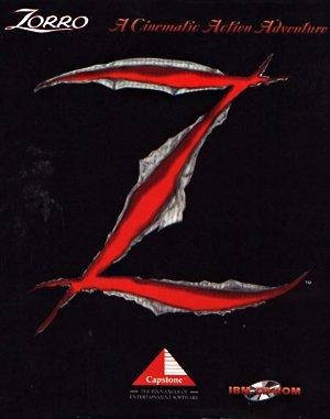 Zorro DOS front cover