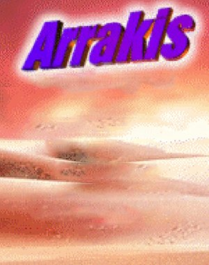 Arrakis DOS front cover