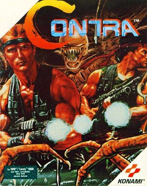 Contra DOS front cover