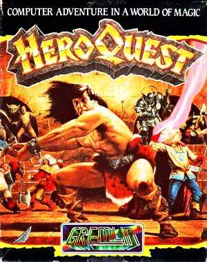 HeroQuest DOS front cover