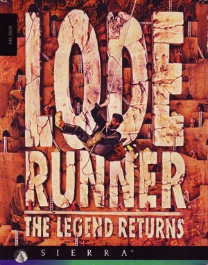 Lode Runner: The Legend Returns DOS front cover
