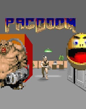 Pacdoom DOS front cover