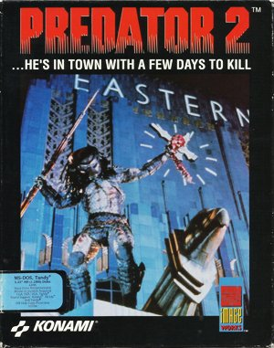 Predator 2 DOS front cover