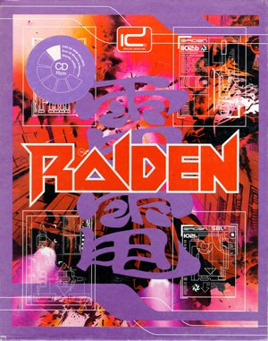 Raiden DOS front cover