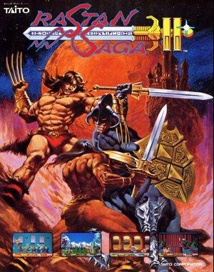 Rastan DOS front cover
