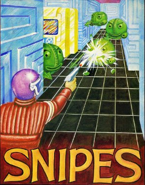 Snipes DOS front cover