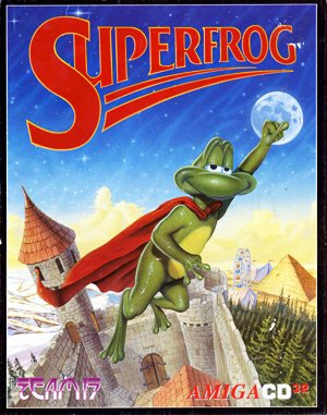 Superfrog DOS front cover