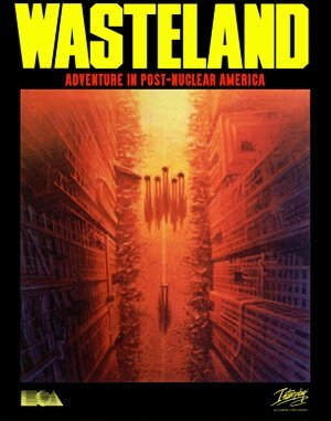 Wasteland DOS front cover