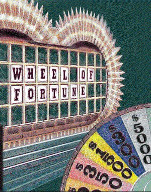 Wheel of Fortune: Deluxe Edition DOS front cover