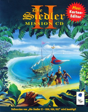 The Settlers II: Mission CD DOS front cover