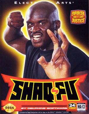 Shaq Fu Sega Genesis front cover