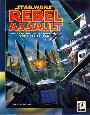 Star Wars: Rebel Assault DOS front cover