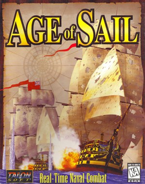 Age of Sail DOS front cover