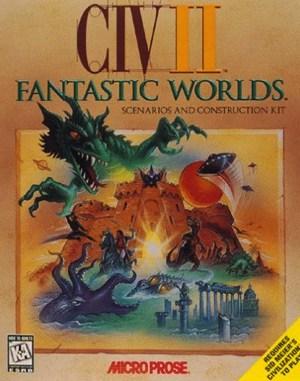Civilization II: Fantastic Worlds WINDOWS front cover