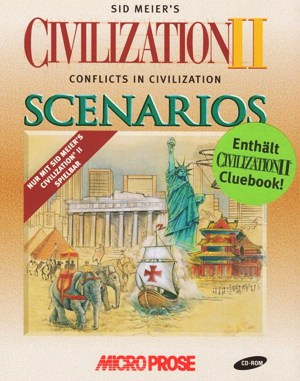 Civilization II: Conflicts in Civilization WINDOWS front cover