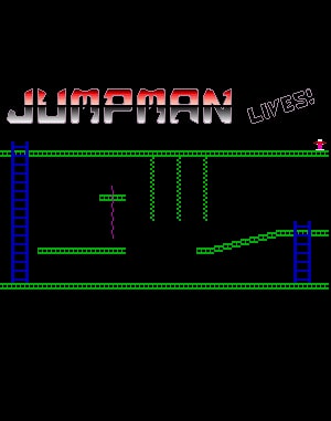 Jumpman Lives! DOS front cover