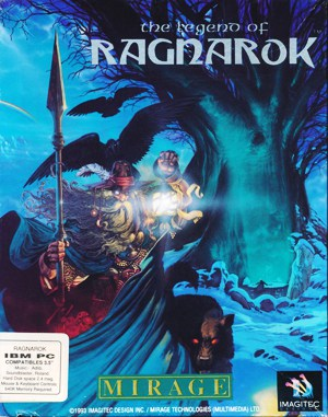 King's Table The Legend of Ragnarok DOS front cover