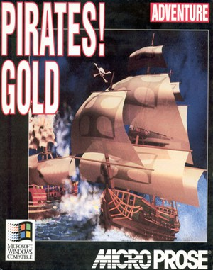 Pirates! Gold (win) WINDOWS front cover
