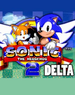 Sonic 2 Delta Sega Genesis front cover