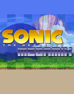 Sonic The Hedgehog Megamix 3.0 Sega Genesis front cover