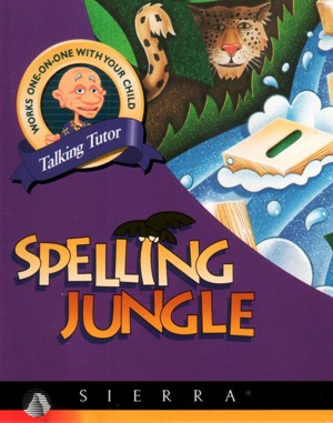 Spelling Jungle WINDOWS front cover