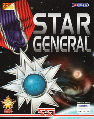 Star General DOS front cover