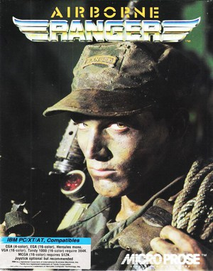 Airborne Ranger DOS front cover