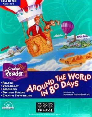 Around the World in 80 Days DOS front cover