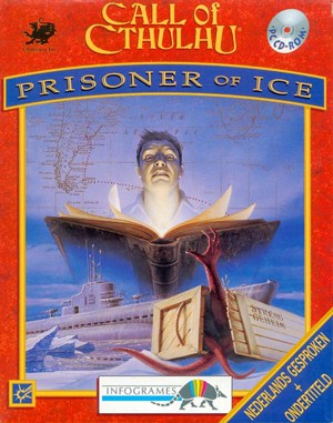 Call of Cthulhu: Prisoner of Ice DOS front cover