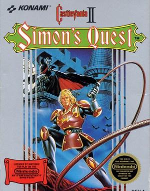 Castlevania II: Simon's Quest NES  front cover