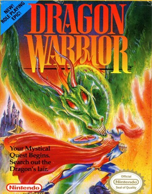 Dragon Warrior NES  front cover