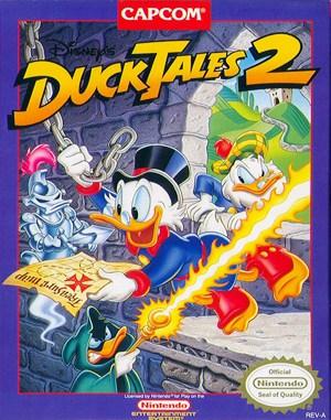 Disney's DuckTales 2 NES  front cover
