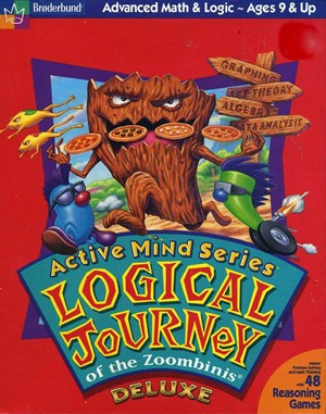 Logical Journey of the Zoombinis WINDOWS front cover