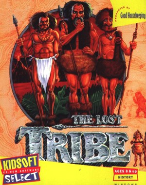The Lost Tribe DOS front cover