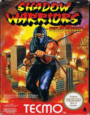 Shadow Warriors: Ninja Gaiden NES  front cover